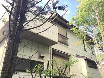 北軽井沢 屋根塗装