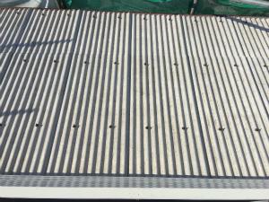 太田市台ノ郷でスレート屋根の洗浄完了