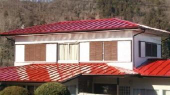 吾妻郡吾妻町K様邸全体屋根塗装完成