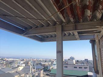 前橋市三河町マンション塗装工事屋根