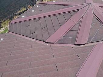 屋根材隙間