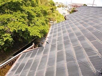 吉岡町 スレート屋根塗装