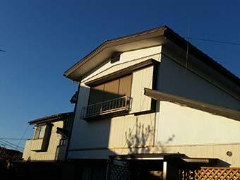 吉岡町 屋根、外壁塗装工事前