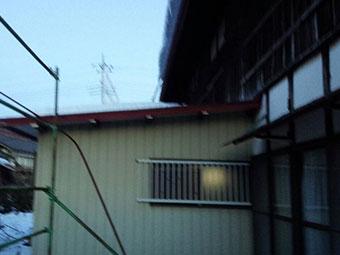 群馬県 屋根 積雪3