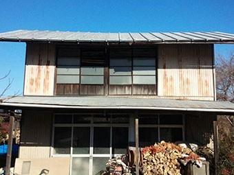 群馬 トタン屋根塗装工事見積り