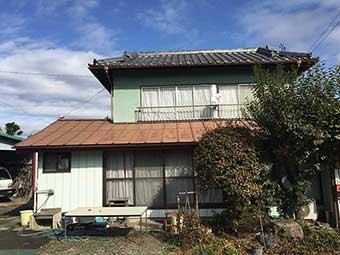前橋市 屋根塗装前