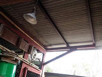 前橋市富士見町作業小屋塗装3