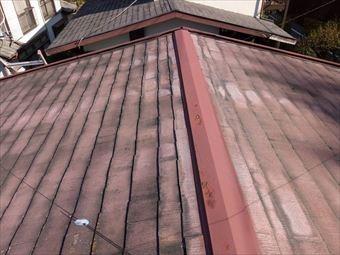高崎市山名町屋根と棟板金