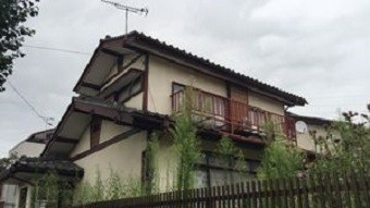前橋市高花台で庭が広い和風なお宅の施工前