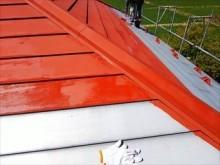 玉村町屋根塗装 下塗り