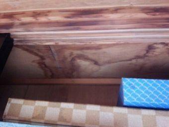 渋川市渋川の見積り、部屋の雨漏り箇所