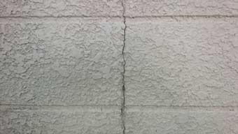 屋根外壁塗装 現地確認 クラック