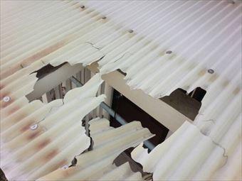 前橋市荒牧町M様邸屋根破損
