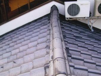 渋川市で屋根の点検、棟瓦のズレを放置してませんか?