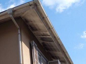 前橋市堤町軒天井の変色