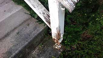 別荘 屋根外壁劣化診断