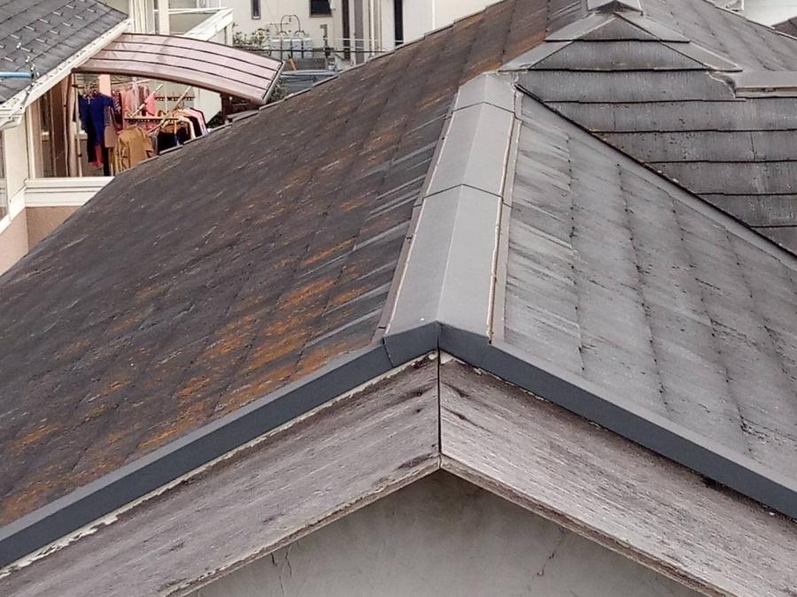 屋根は北と南では傷み方が違いますが屋根塗装の塗り方は同じです|前橋市光が丘