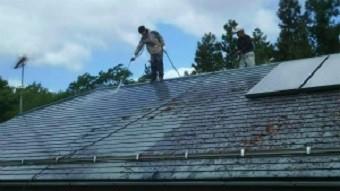 利根郡昭和村Y様邸屋根洗浄