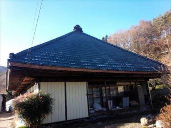 沼田市利根町I様邸屋根塗装工事東面