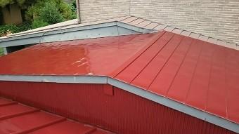 前橋市青梨子町でサンブキトタン屋根の塗装工事完了