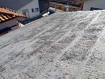 前橋市昭和町屋根の防水