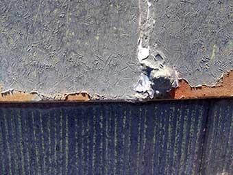 前橋市昭和町屋根の劣化状態アップ