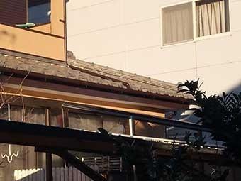 太田市宝町瓦漆喰点検下屋根