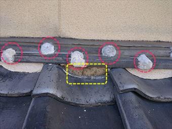 前橋市雨漏り補修の劣化