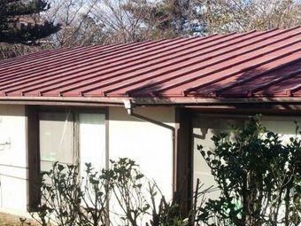 前橋市富士見町K様邸トタン屋根全体
