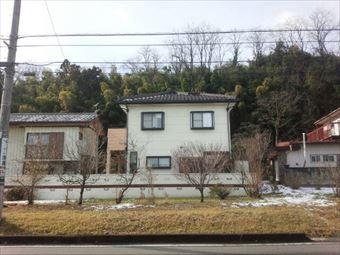高崎市中里見町町のI様邸瓦屋根遠目写真