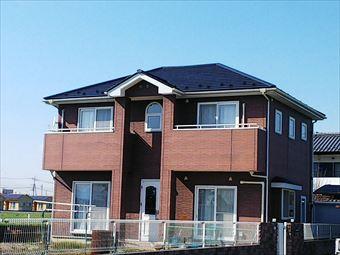 玉村町屋根塗装 完了