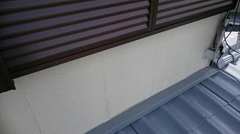 高崎市I様邸外壁のひびアップ写真