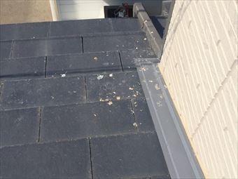 太田市藪塚町U様外壁と屋根のつなぎ目