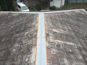 渋川市渋川屋根材劣化状態