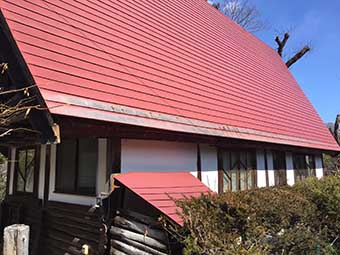吾妻郡嬬恋村S様邸屋根塗装3
