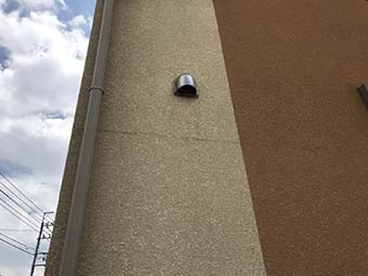 藤岡市 外壁ひび割れ