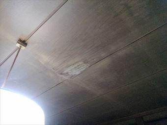 安中市松井田町室内天井のシミ