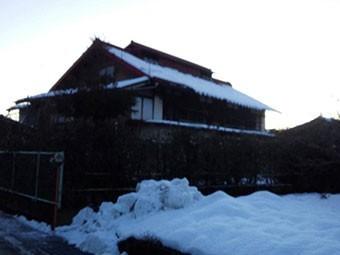 群馬県 屋根 落雪注意