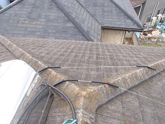 みどり市笠懸町T様邸屋根塗装2