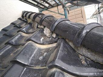 高崎市上中居町T様漆喰の劣化