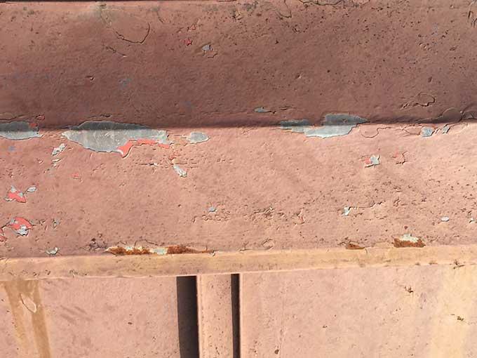 前橋市 金属製の桟葺き屋根(トタン屋根) 現地調査