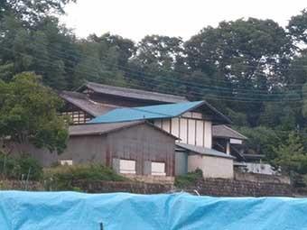 トタン屋根外観