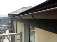 前橋市関根町新しい横樋取付完成