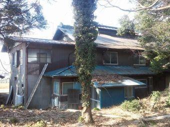 前橋市富士見町S様邸屋根塗装前裏