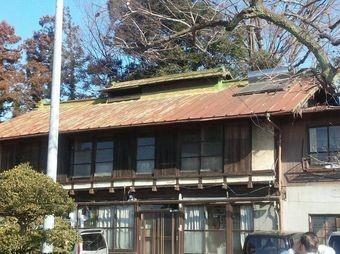 前橋市富士見町S様邸屋根塗装前正面