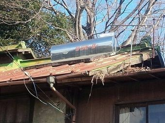 前橋市富士見町S様邸屋根塗装前ソーラー