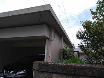 車庫壁面検査