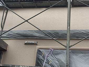 藤岡市 壁上塗り完成