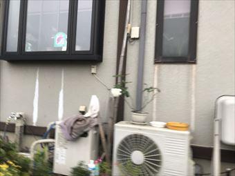藤岡市西平井町Y様外出窓エアコンホース