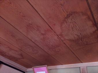高崎市上里見町室内天井雨しみ